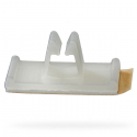 Adhesive Backed Top Entry Clip