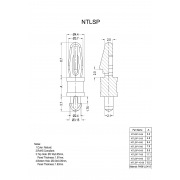 Locking Circuit Board Support Posts Series T