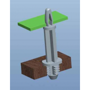 Blind Hole Circuit Board Support Series 5