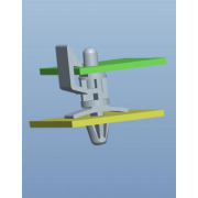 Edge Holding Locking Circuit Board Support