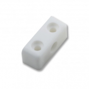 White Modesty Block - 37mm