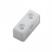 White Modesty Block - 37mm