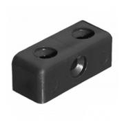 Black Modesty Block - 37mm