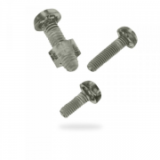 Metric Pan Pozi Polycarbonate Machine Screws