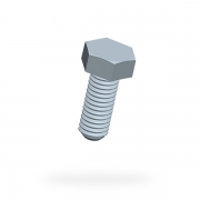 Metric Hex Machine Screws