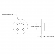 Nylon Sealing Washers