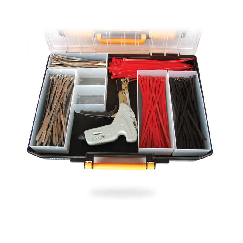Stainless Steel Cable Tie Kit