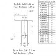 PCB Support Posts