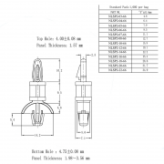 Locking Circuit Board Support Posts Series 2