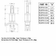 Locking Circuit Board Support Posts Series 10